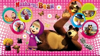 Surprise Toys masha and the bear english episode play doh peppa pig surprise eggs Mickey Mouse