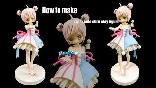 84?Miyuki Sculpture?Clay Tutorial/ Anime Figure/ DIY/Lovely4u?