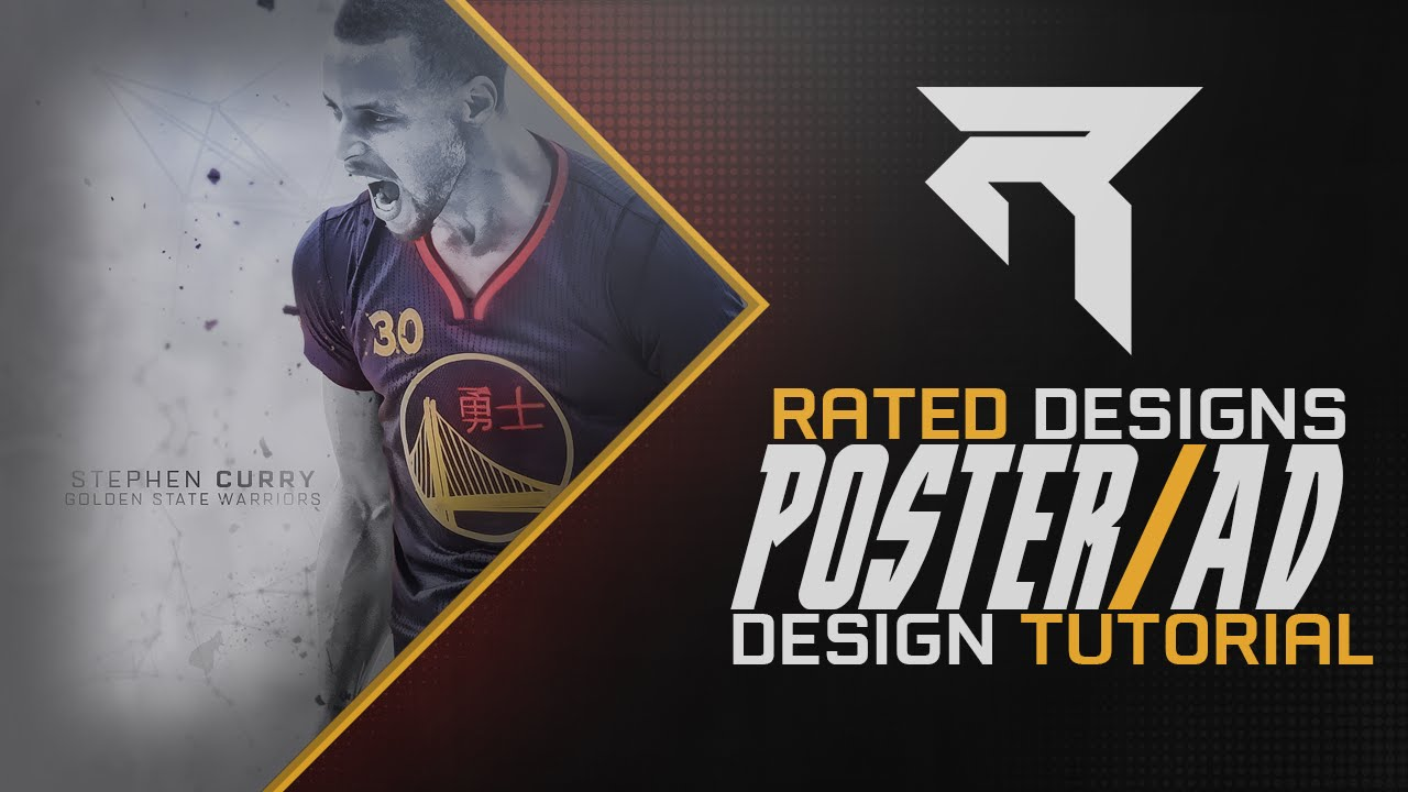 Watch Poster Design Poster/ad Design Tutorial by