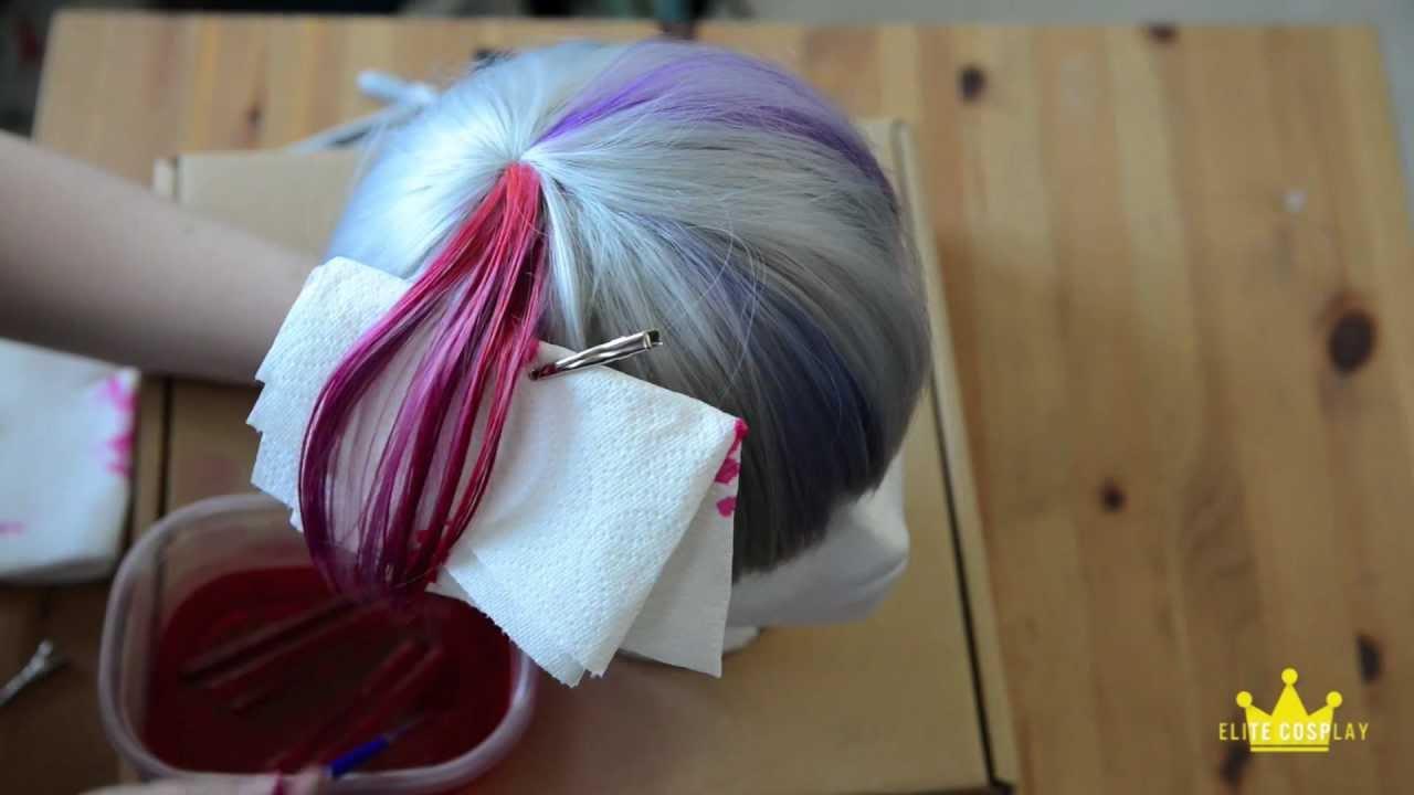 White Wig Dye 111
