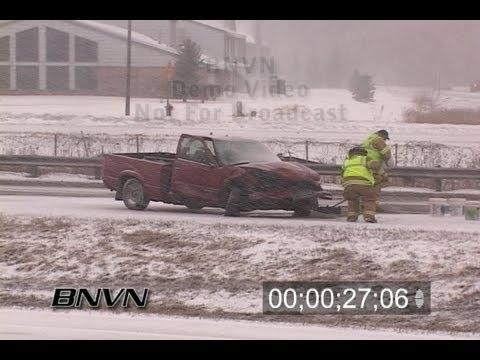 2/28/2008 Winter storm hits the Minneapolis & St. Paul metro area.