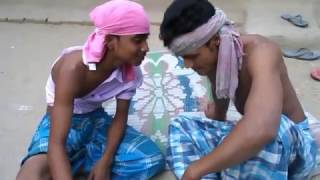 Comedy।মোটা মায়ের আজরাইল ছেলে।New Mojibor Bangla Comedy Video 2017