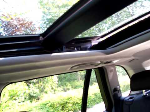 Bmw X5 Panorama Sunshine Roof Panoramadach Youtube