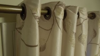 Sewing: Grommets Snaps for Drapery/Curtains Tutorial