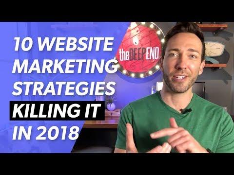 Website Marketing Strategies KILLING IT in 2018
