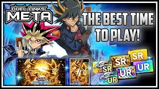 BEST Time to Play Duel Links! Unlock Obelisk! 1K GEMS! Dream Tickets! [Yu-Gi-Oh! Duel Links]