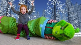 Adley VS the GRINCH who is the real GAME MASTER?