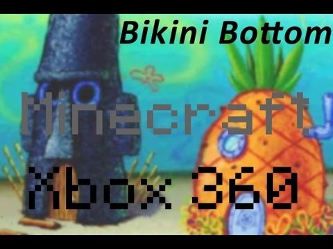Minecraft Xbox 360: Bikini Bottom Adventure Map + Download Link