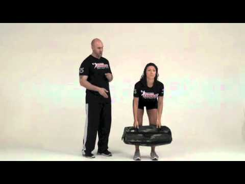 Ultimate Sandbag Exercises Clean and Press Best Full Body Exercise Image 1