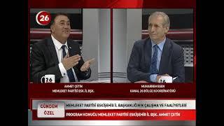 Gündem Özel | Ahmet Çetin Memleket Partisi İl Başkanı