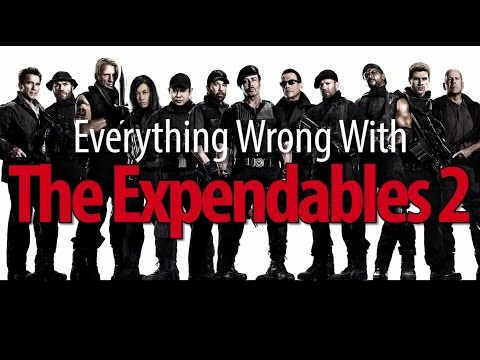 Everything Wrong With The Expendables 2 In 16 Minutes Or Less