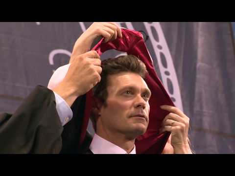 Ryan Seacrest Commencement Address and Honorary Degree