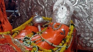A Gigantic Hanumanji in Sleeping Position - Jamsavli, M. P.
