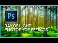 Photoshop CS4: Ray of Light Effects in Photoshop - Photo Manipulation