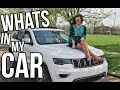 CAR TOUR: What's In My Jeep Grand Cherokee Limited? || Sarah Belle