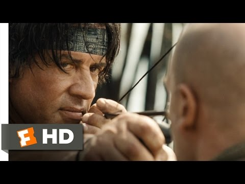 Rambo movie clips: http://j.mp/1Jd5XiE BUY THE MOVIE: http://j.mp/JKJKfi Don't miss the HOTTEST NEW TRAILERS: http://bit.ly/1u2y6pr CLIP DESCRIPTION: When the mercenaries do nothing to stop...