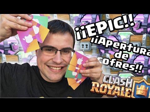 CHISPITAS ¡¡VEN A MÍ!! +100 cofres abiertos | Epic Apertura de Cofres | Clash Royale | Español