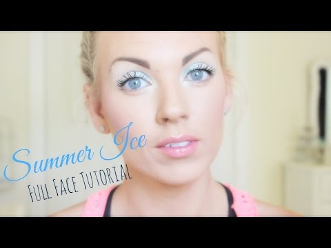 ❤ Summer Ice (Full Face Tutorial) ❤
