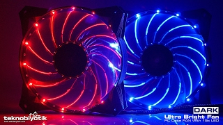 DARK Ultra Bright 15 Ledli 12cm Kasa Fanı