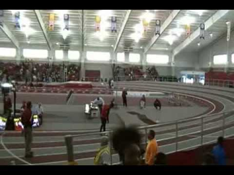 1-18-2014 Boys 4x200 Relay at Arkansas High School Invitational