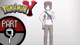 Pokemon X and Y - Part 7: Route 3 | Trainer Customization and Scatterbug Evolution!