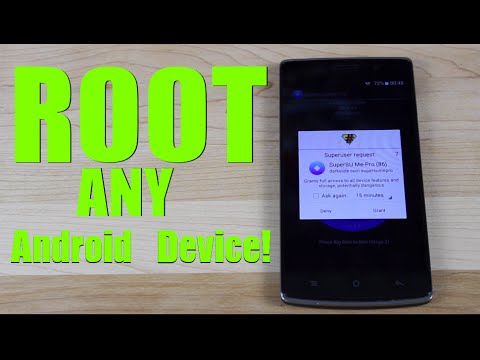 ROOT Any Android Device ONE Click! No PC 6.0.1. 5.1.1. 5.0. 4.4. 4.3 Marshmallow. Lollipop