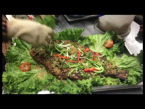 Anh Hong Restaurant Grilled Catfish