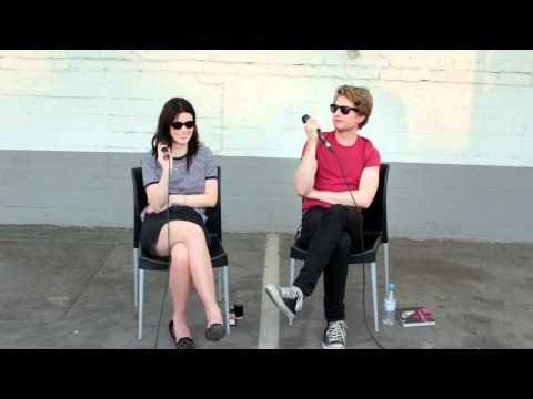 triggerfish.de Interview BLOOD RED SHOES, Köln 2012