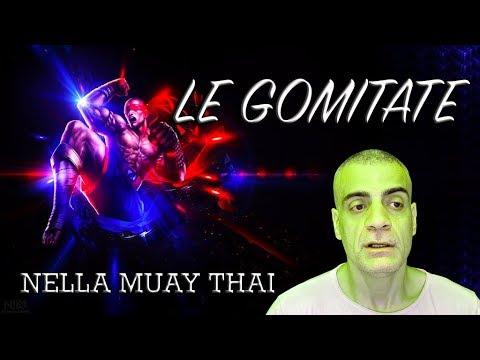 Le gomitate nella Muay Thai