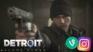 Detroit: Become Human | Vine/Instagram Edits (PT 4)