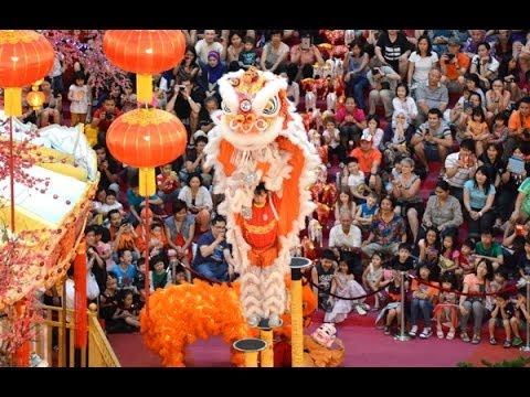 Chinese New Year Lion Dance @ Bukit Bintang 2014