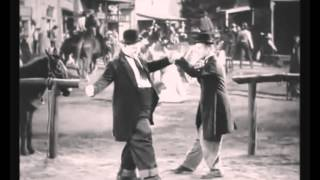 LAUREL AND HARDY DANCING TO BOB SINCLAR