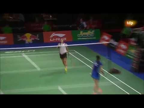 Final campeonato mundial Badminton 2014 Carolina Marin campeona!!!