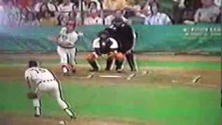 Fred Lynn 3 Home Runs 10 RBI's As Rookie Boston Red Sox!