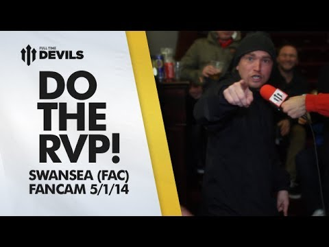 Do The Robin Van Persie Dance! | Manchester United 1-2 Swansea City - FA Cup | FANCAM