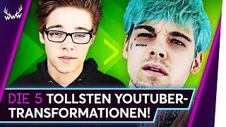 Die 5 TOLLSTEN YouTuber-Transformationen! | TOP 5