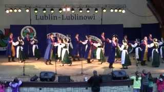 "Tańce kaszubskie - Koncert ZPiT Lublin"" Lublin-Lublinowi"" 22.06.2014"