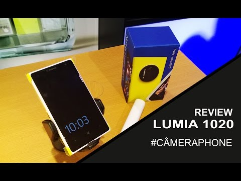 Review e Unboxing Nokia Lumia 1020 PORTUGUÊS