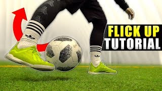 Learn COOL flick up - Football skill tutorial for beginners!