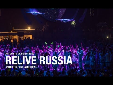 Sensation Russia '13 'Source of Light' post event movie