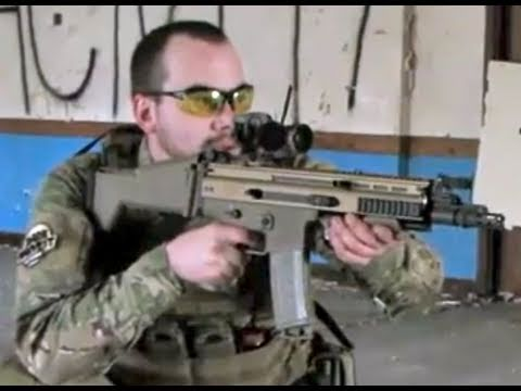 Airsoft War Scar-L Military Base CQB Ai500 England