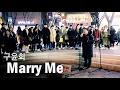 일반인이 소름돋게 부른 구윤회 Marry Me 라이브 Cover (Elevenoz 홍대 버스킹)