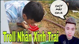 Troll Thằng Lười Biến Nhân Xinh Trai Ăn Bánh Ớt ( Lazy Tasted Laughing Eat Chili Cake)