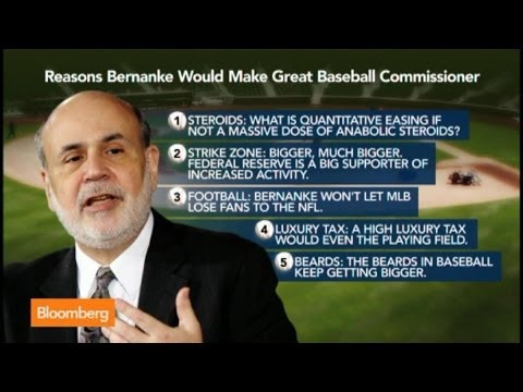 Could Bernanke Be the Next Baseball Commissioner?