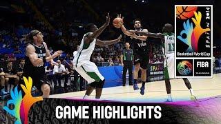 Basketball - Mondial Espagne 2014 | Senegal 46-81 Argentine