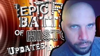 Epic Rap Battles of History Updates and Hints | ERB in the making, Announcement