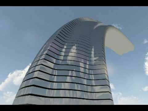 Dynamic Skyscraper (Rotating abnormally:)