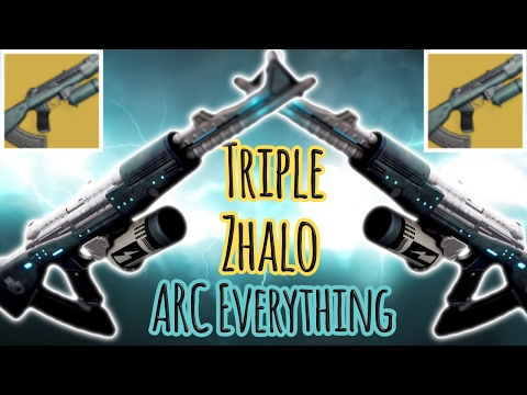 Triple Zhalo Supercell/ Arc Everything Flawless Only | Destiny