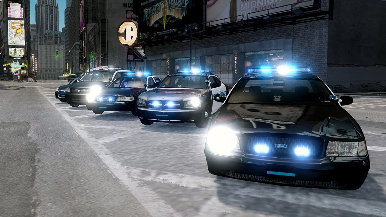 Gta Iv Police Car Pack Els Cvpi S Caravan Charger