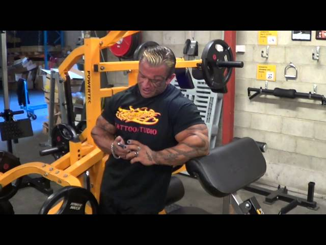 Lee Priest discusses Bodybuilding and Personal Training